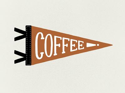 Coffee! procreate app coffee shop typography drawing design illustration handletter pennant coffee procreate