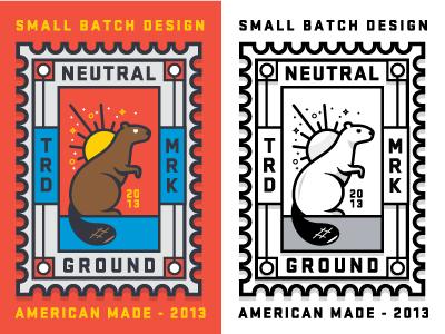 Neutral Ground Stamp