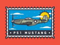 P51mustang Stamp