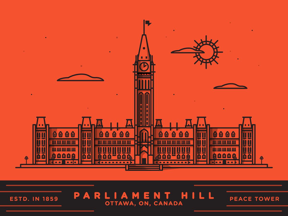 Parliament hill x2