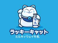 Lucky Cat Milkway Milk