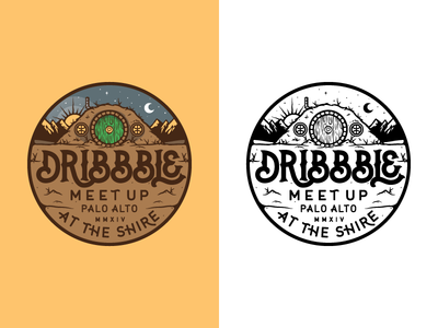 Dribbble Meetup Tee
