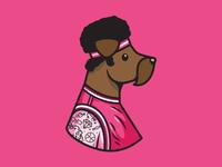Dribbble Terrier