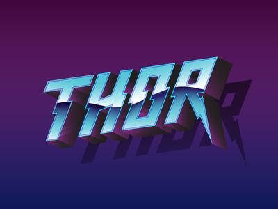 Thor thor corgi type handmade metal lightning