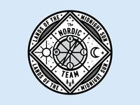 Nordic Compass Badge