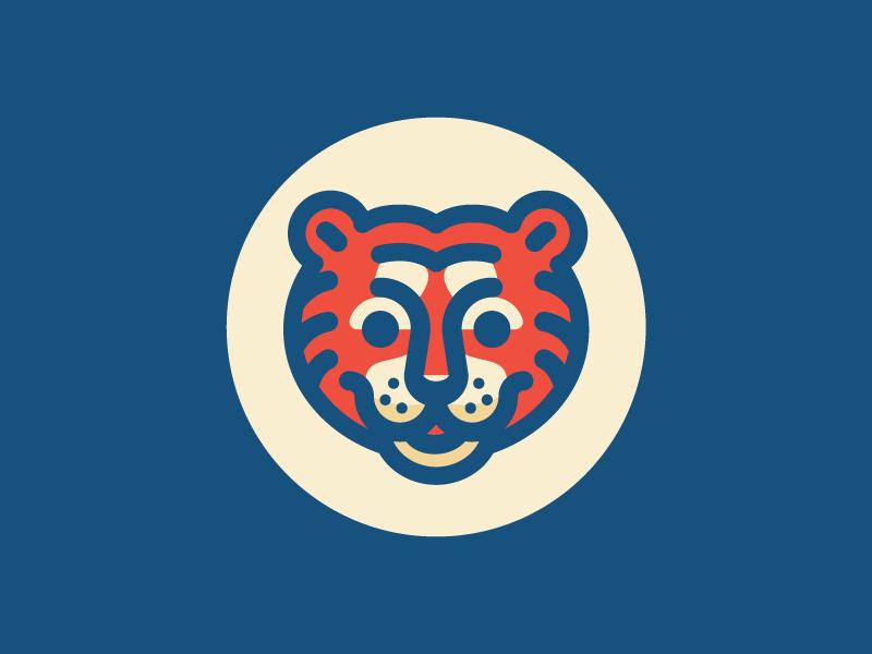 Tiger illustration logo mark car tiger