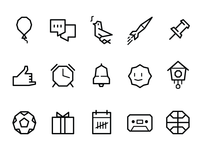 Pebble Icons