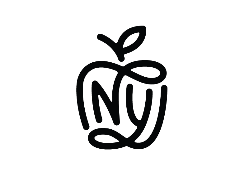 ny monogram by nick slater dribbble dribbble