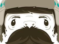 The bearded mountain man.