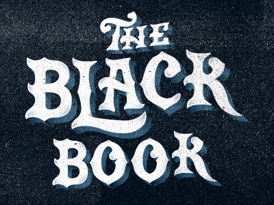 The Black Book By Nick Slater