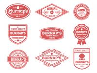 Burnap's badges