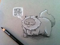 Fonzi The Cat Sketch