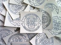 OTE Monogram Stickers