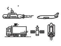Transit Icons
