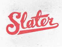 Slater WIP