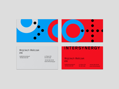 Intersynergy Business Cards