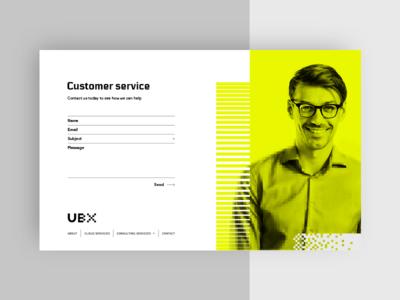 UBX Cloud UI