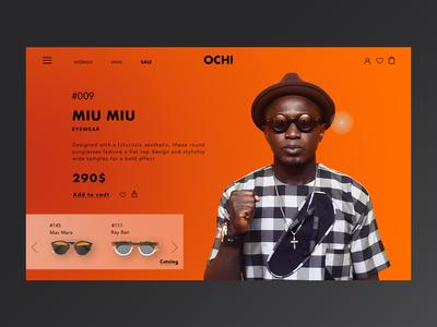 Sunglasses product card
