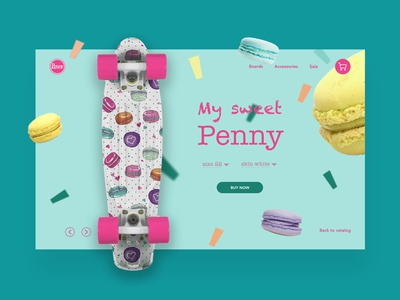 Penny board concept