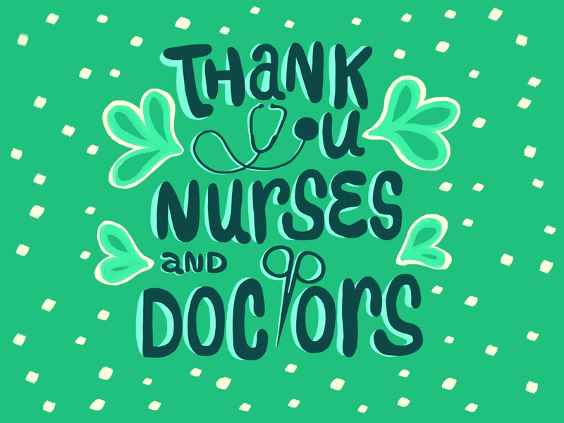 COVID19 / Thank you Nurses & Doctors!