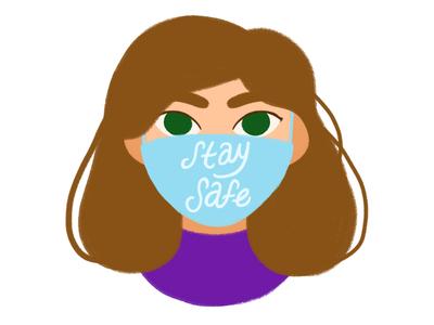 Stay Safe! saferathome skillshare staysafe covid19 motion design aftereffects design photoshop illustration