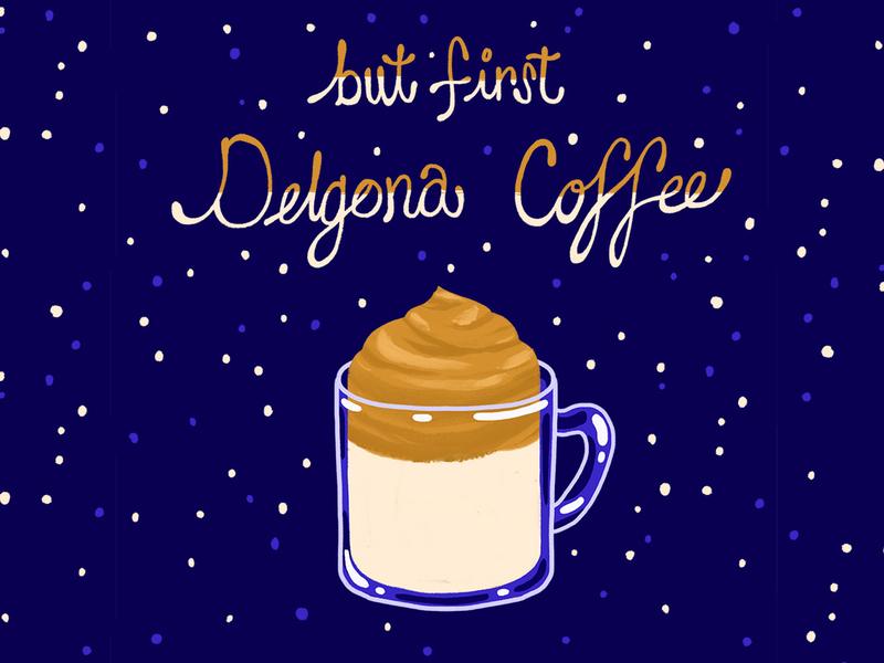 Delgona Coffee coffee illustration cofee photoshop delgona coffee foodillustration design illustration