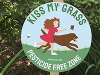 KISS MY GRASS!
