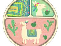 Llama Divider Plate Concept
