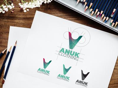 ANUK Clothing Logo Design