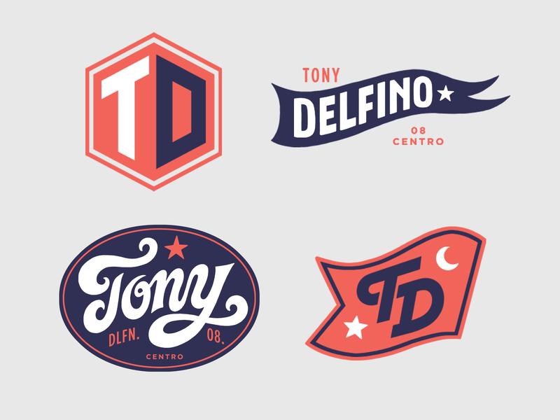 Tony Delfino branding logo branding typography print hand lettering