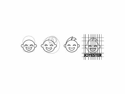 JOYESTER logotype illustrator design branding vector minimal illustration graphic design flat logodesign logo