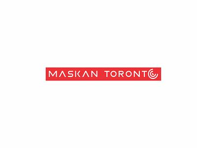 MASKAN TORONTO vector branding illustration minimal graphic design flat logodesignerforhire aministudio logoset logodesignersclub logodesigners logogram logos logodesigner logodesign logotype logo