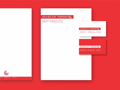 MASKAN TORONTO Brand Identity logotypes logo design logotype illustrator design logos logo branding vector illustration minimal graphic design flat