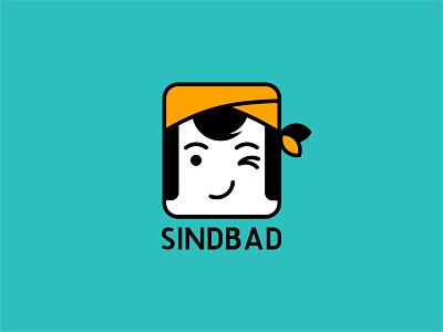 SINDBAD Logo Design design illustrator branding vector illustration minimal flat graphic design logodesignerforhire logodesigner logos logo