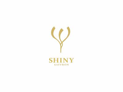 SHINY SAFFRON persiansaffron saffronlogodesign saffronlogo saffron typography illustrator design vector illustration minimal graphic design flat branding logodesignerforhire logotype logodesigner logodesign logo