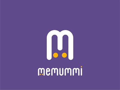 Memummi Kids Brand logodesignhire logodesigner kidsbrand logobrands logos logokids logo