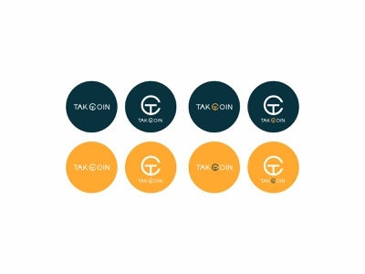 TAKCOIN Logo identity design branding vector minimal illustration graphic design flat logoceoncept logos hirelogodesigner logotype logodesigner logodesign logo