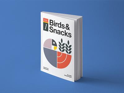 Birds & Snacks snacks bird mallard duck fibonacci goldenratio logo branding brand design typogaphy vector graphic design