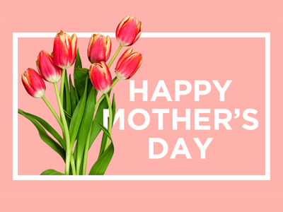 Happy Mother's Day flowers card mothers day