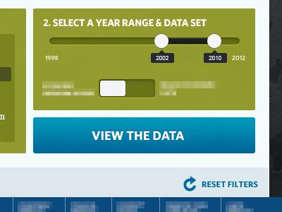 Data Filtering heritage filter year slider range date data