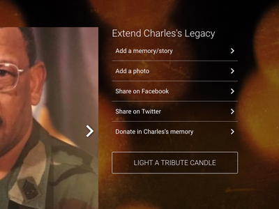 Extend NAME's Legacy website