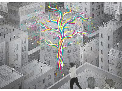 Creative Communities illustration