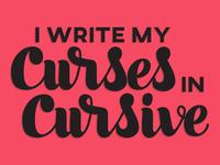 Curses in Cursive