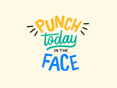Daily Motto quote hand typography hand type handletter handlettering handlettered