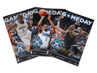 Orlando Magic Gameday Playbill Covers