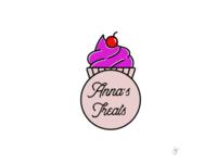 Logo for Anna's treats