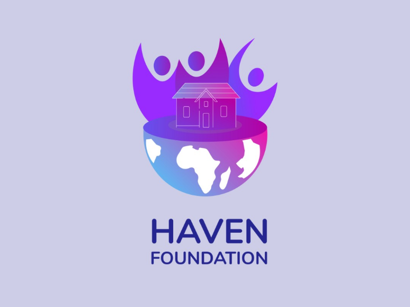 Logo for haven foundation