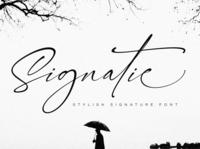 Signatie | Stylish Signature Font