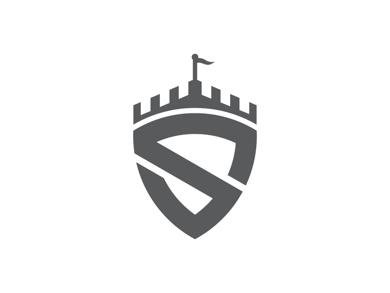 Castle Shield Logo by Brand Semut on Dribbble