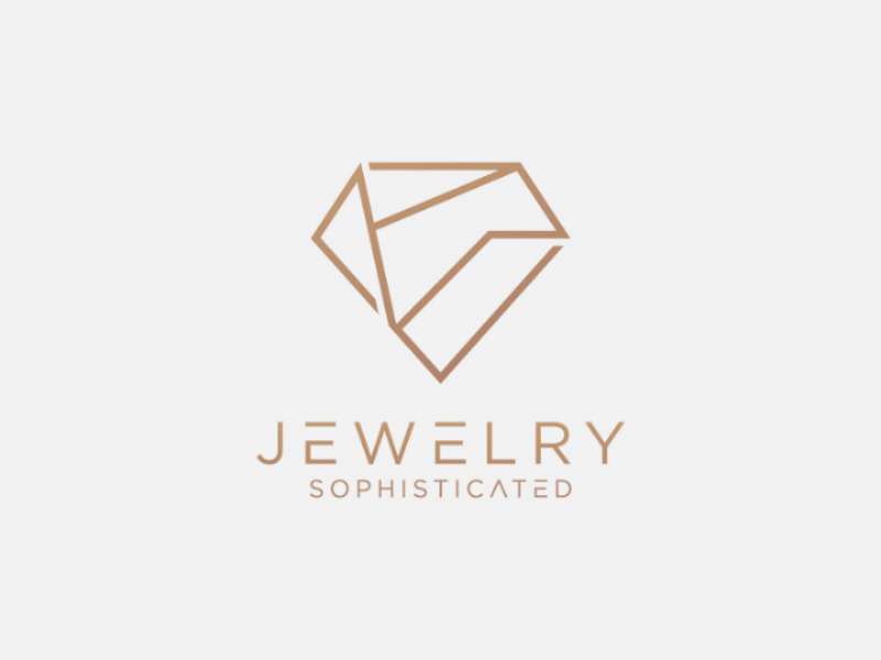 Sophisticated Jewelry Logo vector royal accessories boutique gem ring icon diamond sophisticated modern luxury jewelers jewelry logo